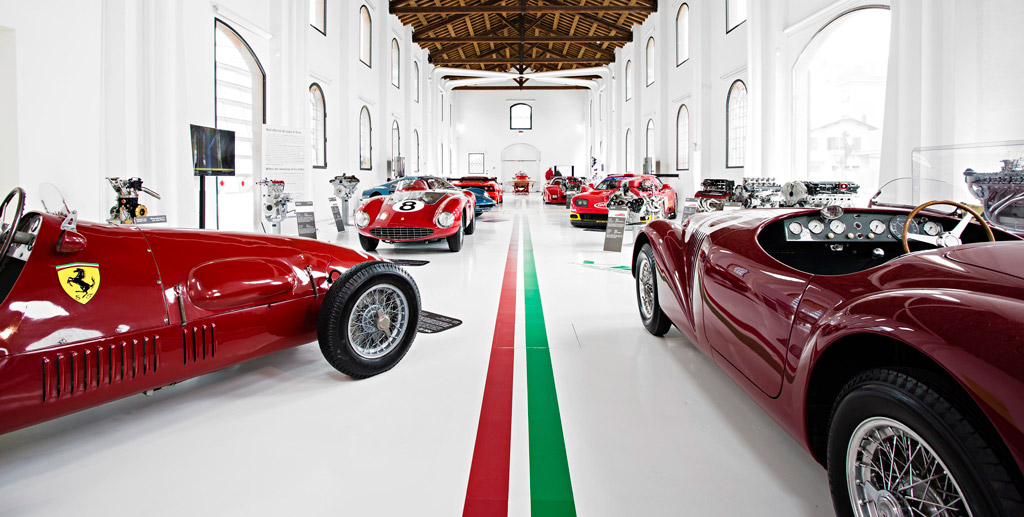 modena and ferrari museum - florence - rome in limo